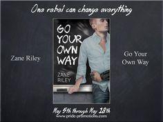 Go Your Own Way by Zane Riley - https://www.rafflecopter.com/rafl/display/7d5bb789327/