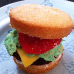 From my personal collection: Cheeseburger Cupcakes