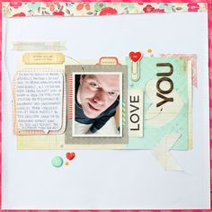 #scrapbooking page with the new #Fourteen collection by #CratePaper - by Janna Werner