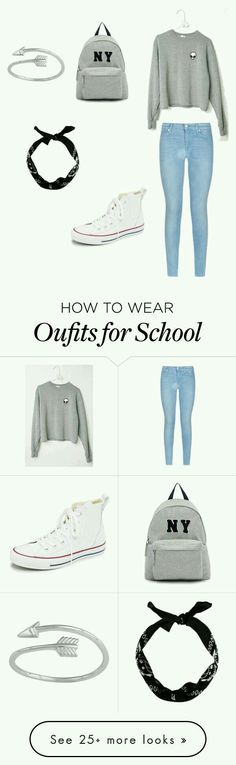 School Outfits for Teens Day Fashion Outfits Outfits With Converse, Komplette Outfits, Teen Fashion Outfits, Outfits For Teens, Look Fashion, Fall Outfits, Summer Outfits, Casual Outfits, Fashion Women