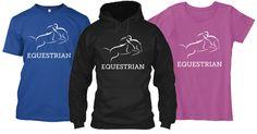 Hunter Jumper Tee's and Hoodies #horses #pony #equine #horse #equestrian #equine #horseshow #showjumping #thoroughbred #hunterjumper #equestrianphotography #barrels #barrelracing #barrelracer #quarterhorse #horsebackriding #dressage