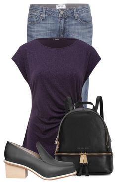 """""""Untitled #14572"""" by nanette-253 ❤ liked on Polyvore featuring Paige Denim, M&Co, Michael Kors, women's clothing, women, female, woman, misses and juniors"""
