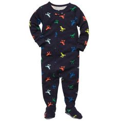 Dinosaur 1-Piece Cotton Pjs | New Arrivals Pajamasj Size: 6M