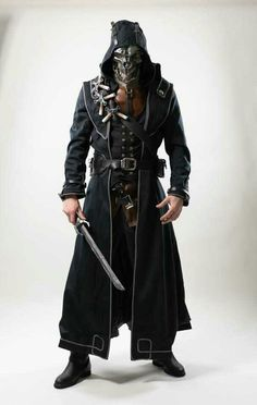 Amazing Corvo cosplay - Dishonored