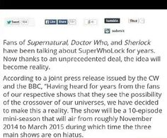 OMFG superwholock is going to happen I just alfkgalsbdjal<<<It's already bloody 2016 why is this still not happening?!