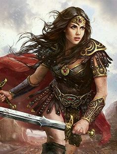 drawing of Wonder Woman Wonder Woman Cosplay, Wonder Woman Art, Wonder Woman Comic, Gal Gadot Wonder Woman, Wonder Women, Warrior Girl, Fantasy Warrior, Warrior Princess, Fantasy Art Women