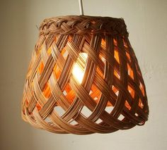 made from wicker basket