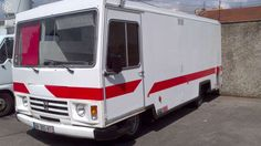 Camion snack pizza J9 1990 5m90