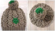 шапка со жгутами и совой описание спицами