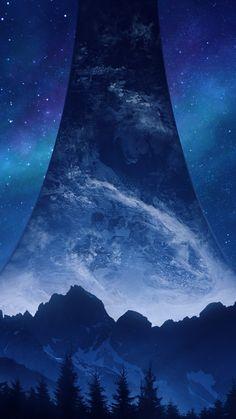 Halo Infinite, Sci-fi Games, Stars, Artwork Sci Fi Games, Apple