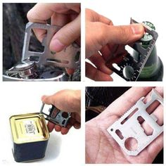 Tactical Army Knife Card Life-saving Multifunctional Tool Card Outdoor - US$1.49 - Banggood Mobile