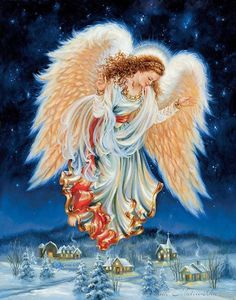 The perfect Anjo Angel Christmas Animated GIF for your conversation. Discover and Share the best GIFs on Tenor. Christmas Scenes, Christmas Angels, Christmas Art, Beautiful Christmas, Christmas Glitter, Angel Images, Angel Pictures, Gifs, I Believe In Angels