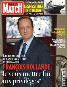 François Hollande, 10 jours avant sa victoire.