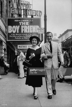 Broadway marquee The Boy Friend Royale Theatre Broadway Theatre, Musical Theatre, Teatro Musical, Theatre Posters, Theatres, West End, New York City, Musicals, Comedy