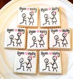 ***Please contact me before placing an order to be sure that I have availability for your date. Include the date of your event, location and quantity of cookies needed*** This listing is for one dozen (12) beautifully decorated and delicious engagement cookies. **LOCAL CUSTOMERS- Use