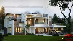 Contemporary home designs full size of modern architecture home House Outer Design, House Front Design, Modern House Design, Facade Design, Exterior Design, Modern Architecture House, Architecture Design, Bungalow Haus Design, Modern House Floor Plans