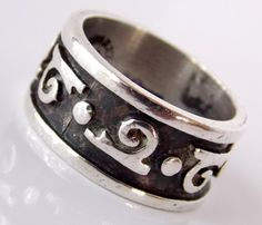 Vintage Taxco Sterling Silver  Ring by TheButterflyBoxdeitz, $40.00