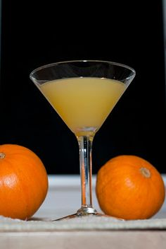 Orange Fluff ~ A Year of Cocktails