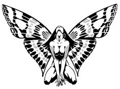 pleace comment butterfly woman small design tattoo
