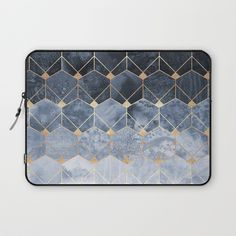 Buy Blue Hexagons And Diamonds Laptop Sleeve by elisabethfredriksson. Worldwide shipping available at Society6.com. Just one of millions of high quality products available.