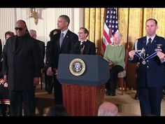President Obama honors the 16 recipients of this year's Presidential Medal of Freedom -- the Nation's highest civilian honor, presented to individuals who ha.