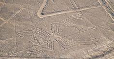 Figura de la araña en las líneas de Nazca