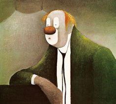 albert bertelsen - The Clown, 1977