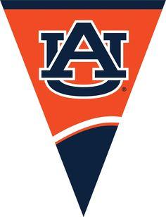 (12/case) Case of Auburn University Flag Banner, Plastic