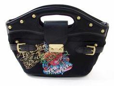 christian audigier Christian Audigier, Vintage Stuff, Black Handbags, Purses And Bags, Favorite Things, Fashion, Black Purses, Moda, Antique