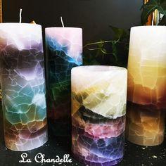#Velas que te inspiran con sus #colores y #lineas.