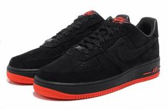 new styles 5a47d 24231 basket nike air force 1,nike air force 1 low noir et rouge homme