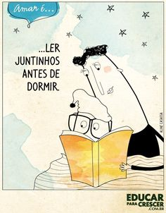 14. Ler juntinhos antes de dormir!
