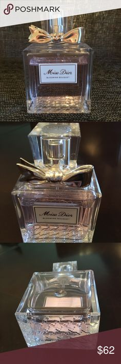 Christian Dior perfume Christian Dior. Miss Dior Blooming Bouquet 1.7 used 4-5 times 90% full. A spontaneous buy;) and don't use. Dior Other