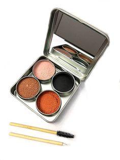 Vegan waste-free refillable makeup palatte