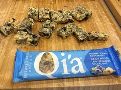 You are going to want to try these Qi'a bars - new from @naturespath - hitting stores this month!  (May 2015) #GMOfree #convenience #chia #hemp #quinoa #TeamCHFAwest