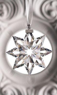 Swarovski Crystal Annual Edition Star Ornament, 2013