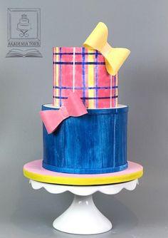 JoJo Siwa doll inspired cake  - cake by ArtofCakeNY