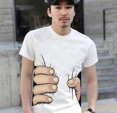 I want a T-Shirt like this! - 握り (via picapixels)