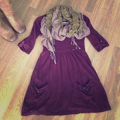 Spotted while shopping on Poshmark: Adorable maroon Tunic! #poshmark #fashion #shopping #style #Kimchi Blue #Tops