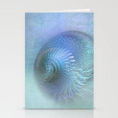 Fantasy Shell Stationery Cards by Digital-Art - $12.00