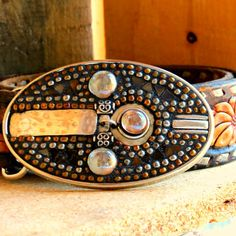 Silver Beaded Belt Buckle by DMacBeltBuckles on Etsy