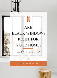 You belong to these groups people who rarely worry about glamour as well as over-the-top designs for your house, then this is definitely your current cup of joe. Read this content to get 15 diy home decor ideas on budget. Black Window Frames, Black Windows, Modern Bedroom Design, Modern House Design, Vinyl Frames, Wood Interiors, Spring Home, White Vinyl, Window Design