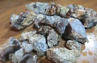 Mexican Fire Agate Rough Lot of 30 stones 2 full pounds of ready to cut rough!!