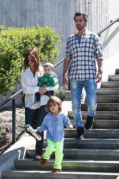 Kourtney Kardashian and her family.