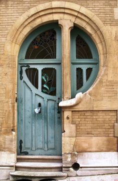 Fantastic Door. art nouveau inspired