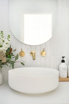 Bathroom Reveal - Loni Parker Editor of Adore Magazine