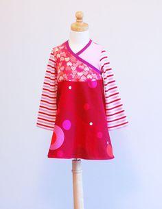 Upcycled Dress Children Clothing Girl's Dress by LittleOvercoat, $30.00