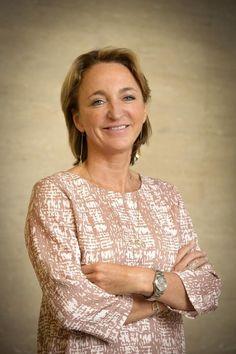 Michèle Sioen, baas van textielbrdrijf Sioen en nieuwe buur van de koning.