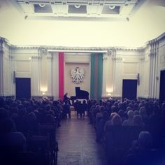 Mała Aula, Gmach Główny PW. Recital Chopinowski (2.10.2014 r.)  #WMwMA #muzyka #klasyka #politechnika #warszawa #politechnikawarszawska #music #kultura #concert