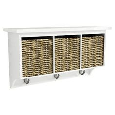 Threshold Entryway Organizer with Seagrass Baskets and Hooks - Assorted Colors, http://www.amazon.com/dp/B00Q2ONTE2/ref=cm_sw_r_pi_awdm_v90dvb1Y9GZSG